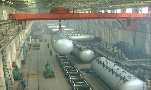 Oil Tank Wagon Production line